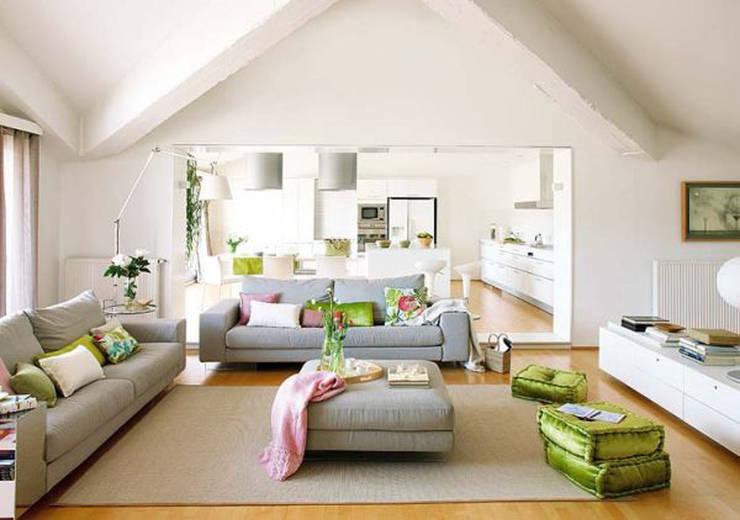 mediterranean Living room by Ysk Tadilat