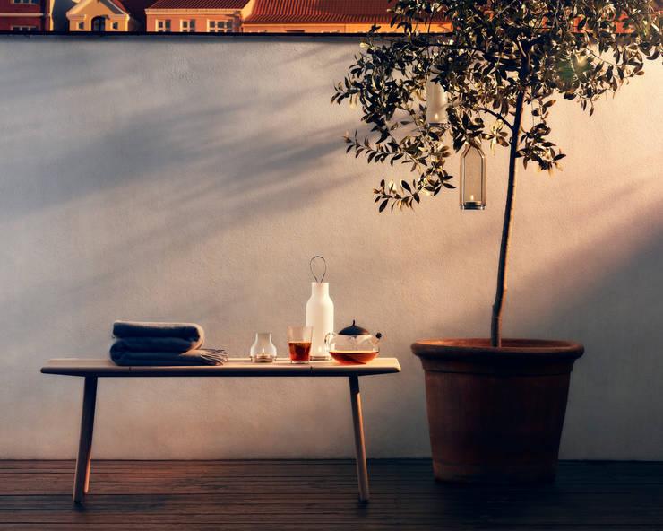 Na Grilla z designem od Fabryka Form: styl , w kategorii Ogród zaprojektowany przez Fabryka Form