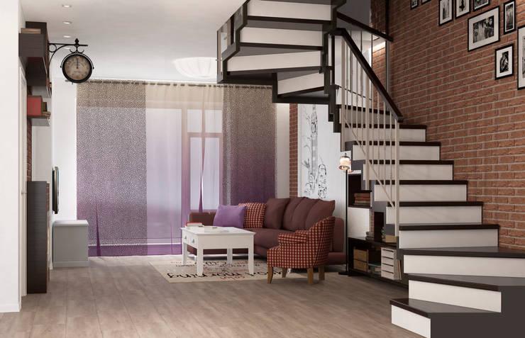 Блок-секция: Коридор и прихожая в . Автор – Center of interior design,