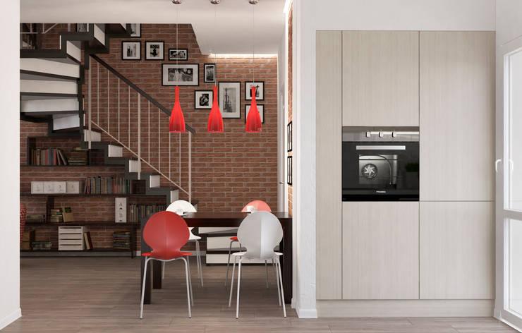 Блок-секция: Столовые комнаты в . Автор – Center of interior design,