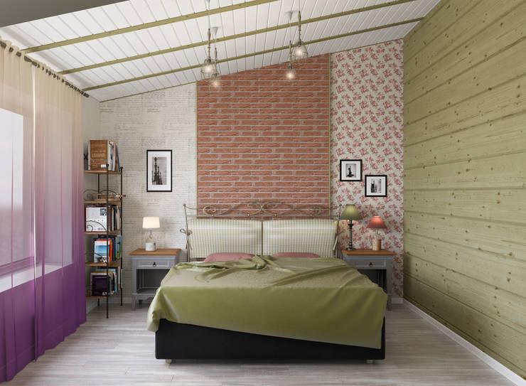 Блок-секция: Спальни в . Автор – Center of interior design,
