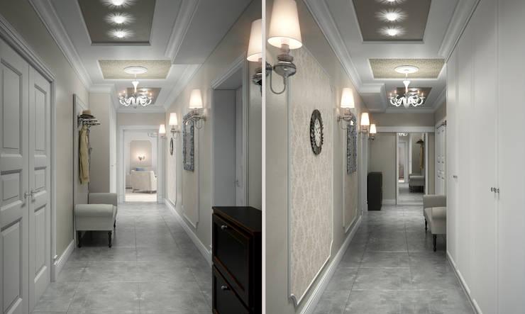 Роскошная квартира в черте города: Коридор и прихожая в . Автор – Center of interior design