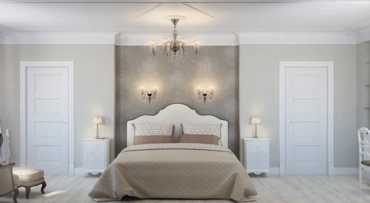 Роскошная квартира в черте города: Спальни в . Автор – Center of interior design