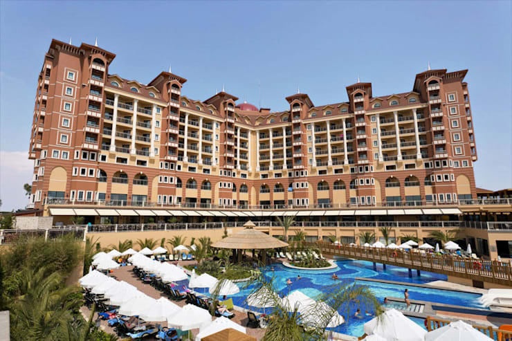 KRT PROJE TASARIM  – Villa Side Residence Hotel:  tarz Oteller