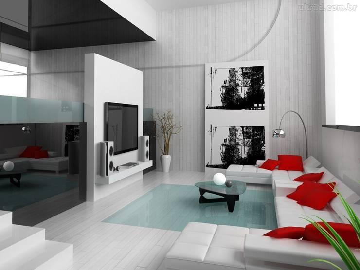 Dekorasyontadilat – Daire Dekorasyonu : minimal tarz tarz Oturma Odası