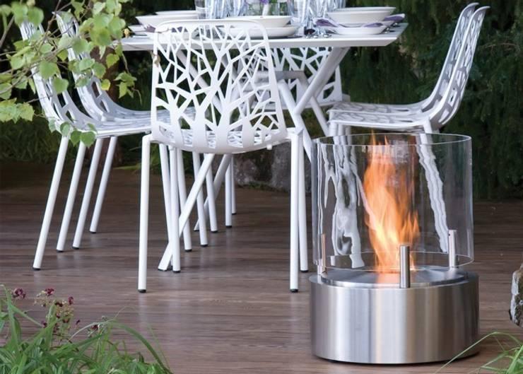 EcoSmart Fire kominki ekologiczne z Australii: styl , w kategorii Hotele zaprojektowany przez ilumia.pl