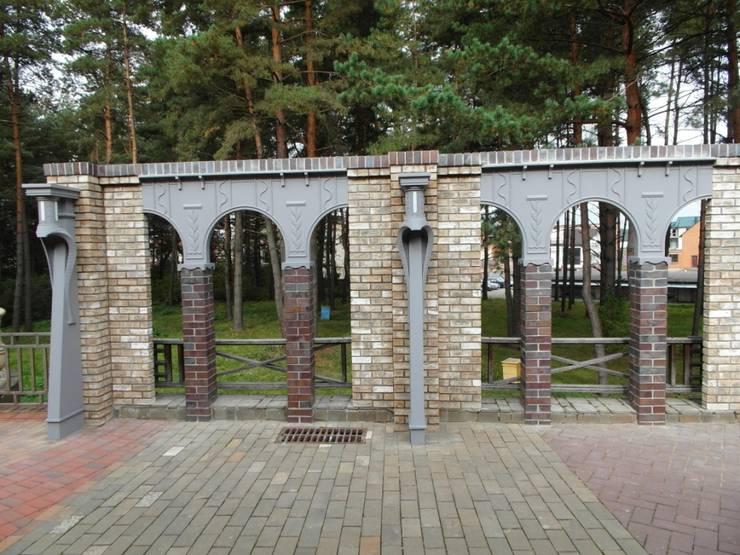 Частный дом 2: Спа в . Автор – Архитектор Владимир Калашников , Классический