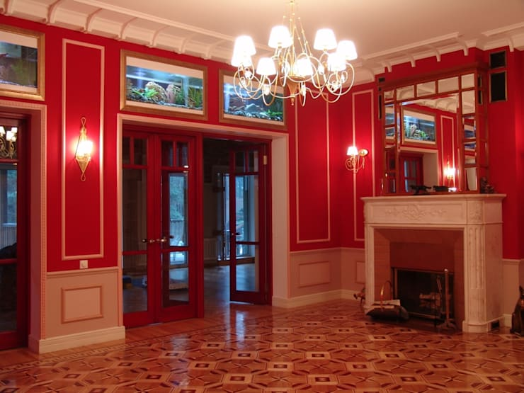 Частный дом 2: Коридор и прихожая в . Автор – Архитектор Владимир Калашников