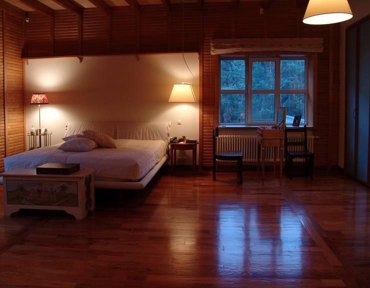Частный дом 2: Спальни в . Автор – Архитектор Владимир Калашников
