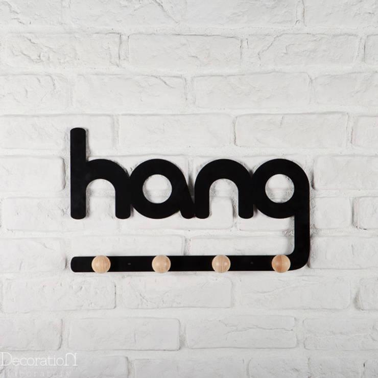 Hang: styl , w kategorii Ściany i podłogi zaprojektowany przez Decoration Laboratory
