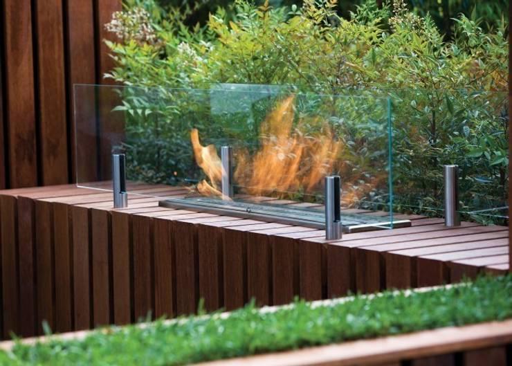 EcoSmart Fire kominki ekologiczne z Australii: styl , w kategorii Salon zaprojektowany przez ilumia.pl