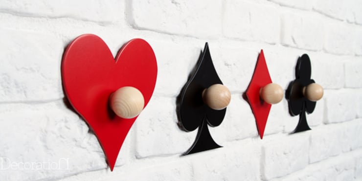 Talia kart: styl , w kategorii Ściany i podłogi zaprojektowany przez Decoration Laboratory