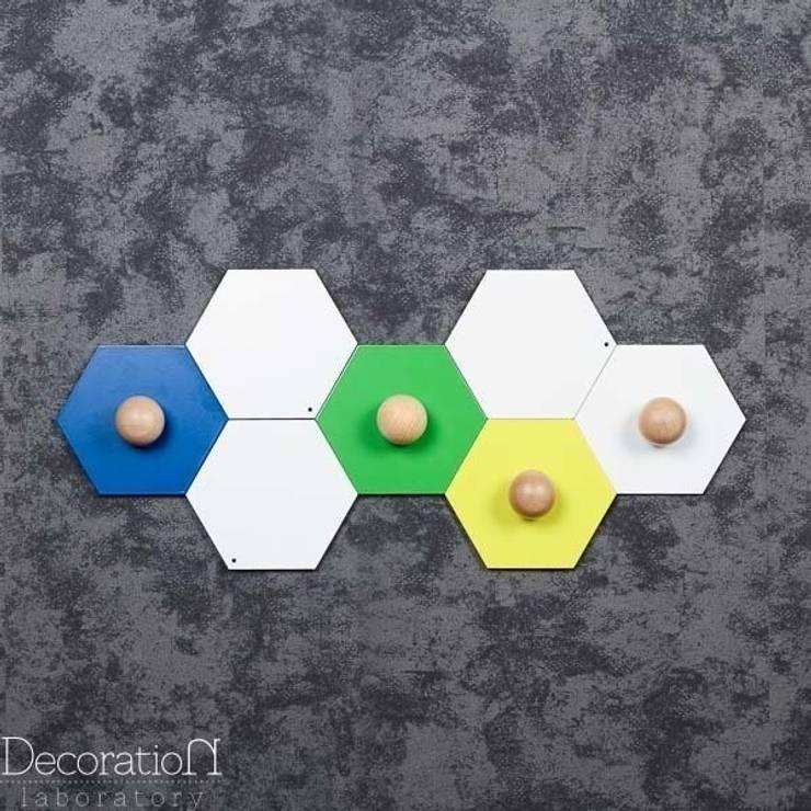 Plastry miodu : styl , w kategorii Ściany i podłogi zaprojektowany przez Decoration Laboratory