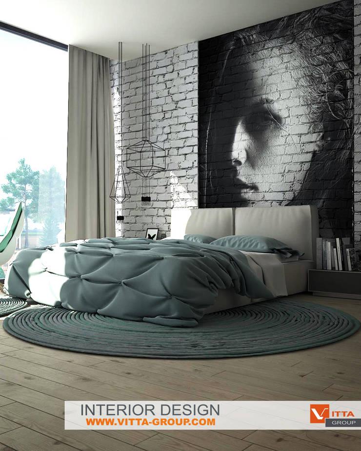 Dream house: bedroom: Спальни в . Автор – VITTA-GROUP