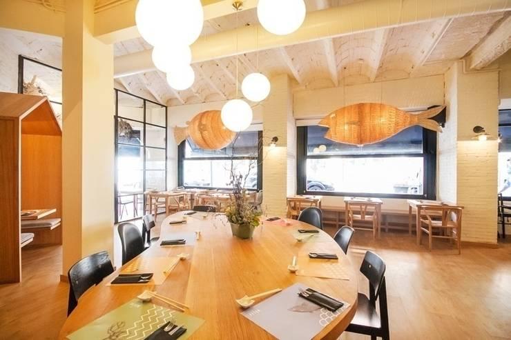 Reforma restaurante Fetén: Locales gastronómicos de estilo  de Global Projects