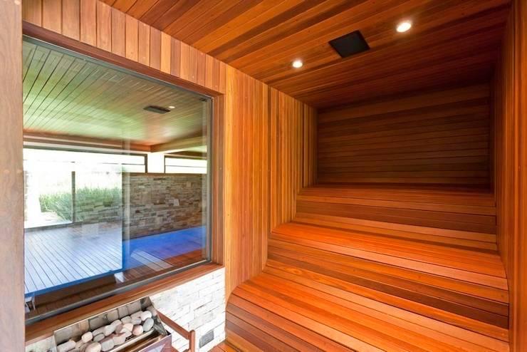 Residência Itu: Spas modernos por Maristela Faccioli Arquitetura