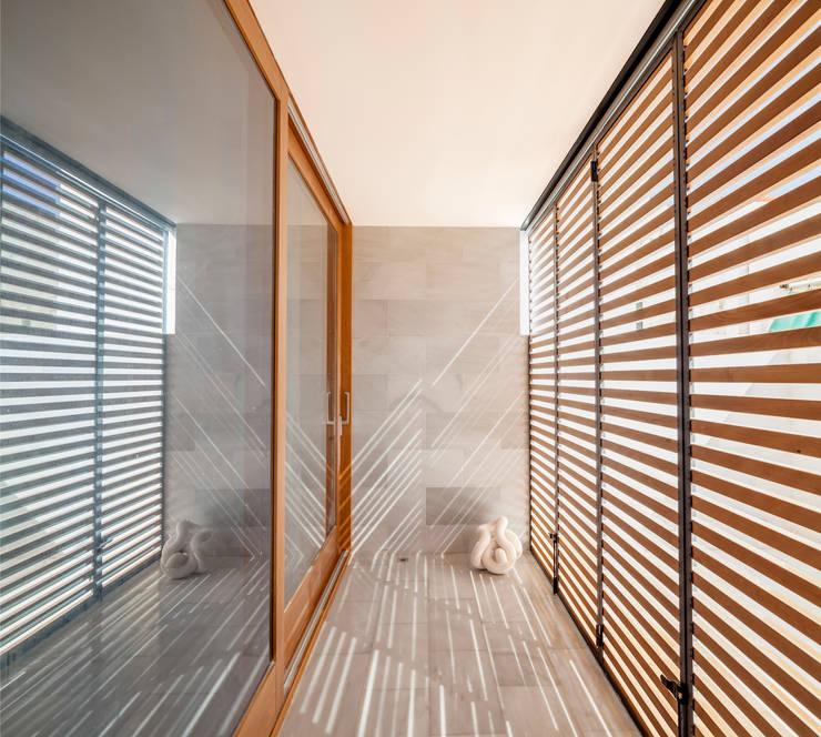 Obra nueva en Barcelona: Terrazas de estilo  de Global Projects