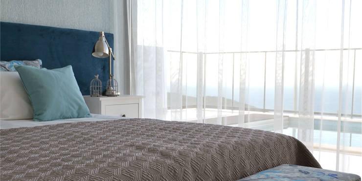 T2 Arquitectura & Interiores: eklektik tarz tarz Yatak Odası