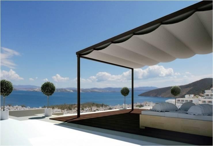 Balcone, Veranda & Terrazzo in stile  di SISTEMAS GAHM SL