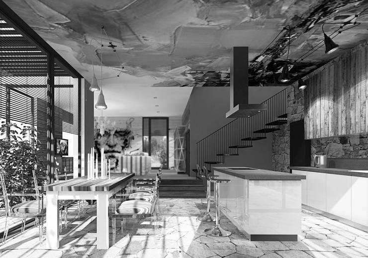 Дом в Хорватии: Кухни в . Автор – FAOMI
