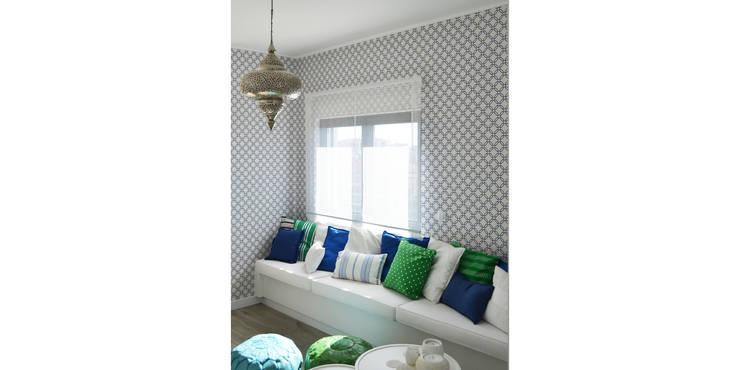 038 | Apartamento, Ericeira, Mafra: Cozinhas  por T2 Arquitectura & Interiores