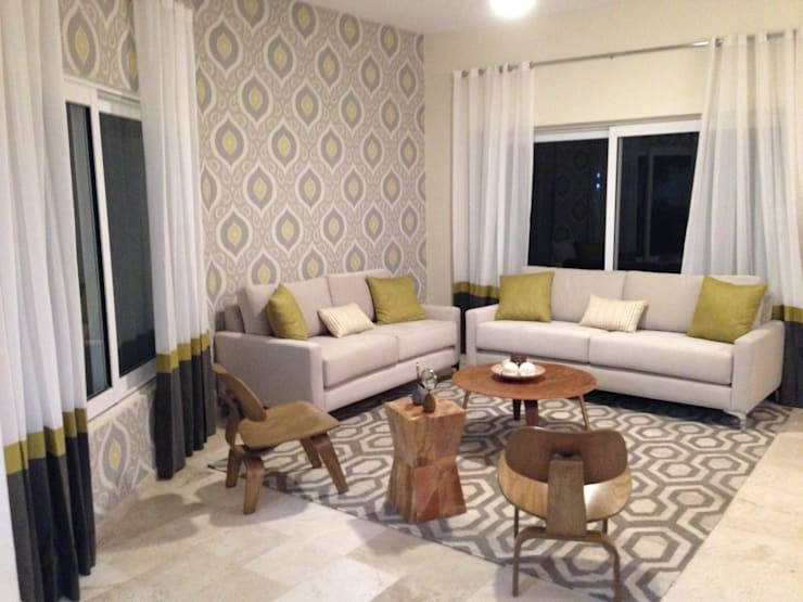 Living room by DECO Designers,
