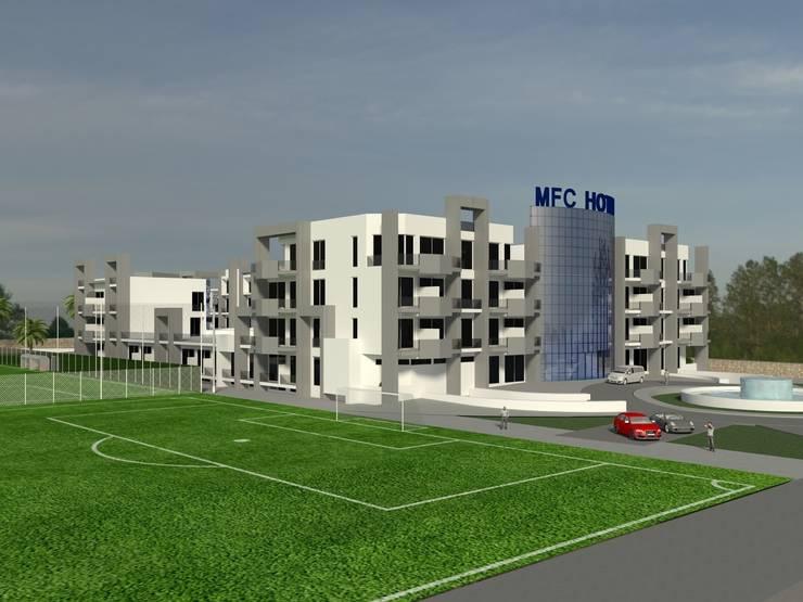 MFC HOTEL: Hoteles de estilo  de jocnarq marbella arquitectura y urbanismo