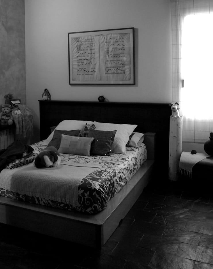 REFORMA DORMITORIO DÚPLEX INDUSTRIAL: Dormitorios de estilo  de Vicente Galve Studio