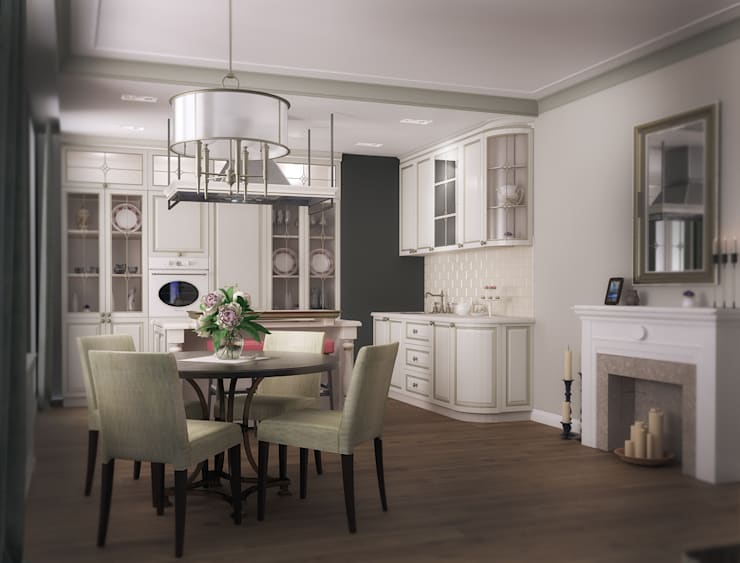 3х комнатная квартира пр.Просвещения: Кухни в . Автор – marusia-design