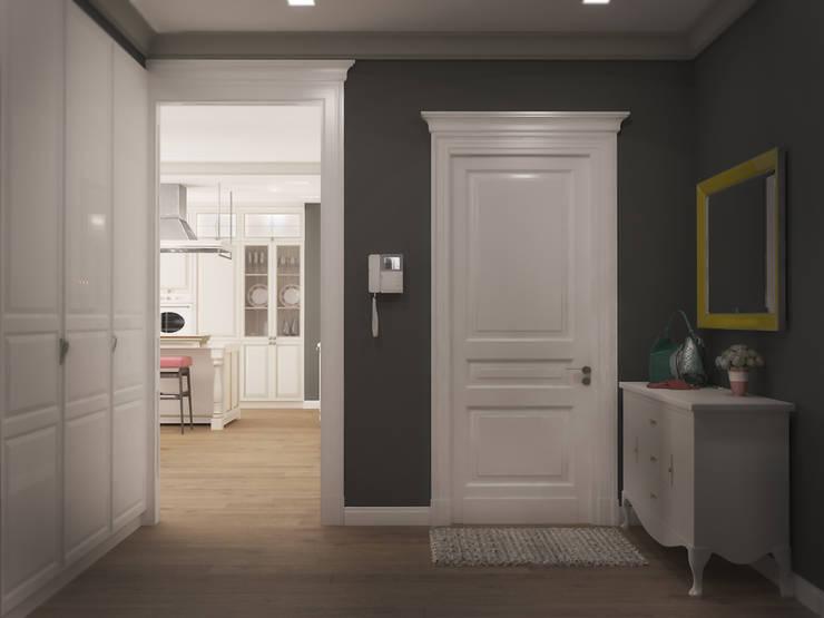 3х комнатная квартира пр.Просвещения: Коридор и прихожая в . Автор – marusia-design