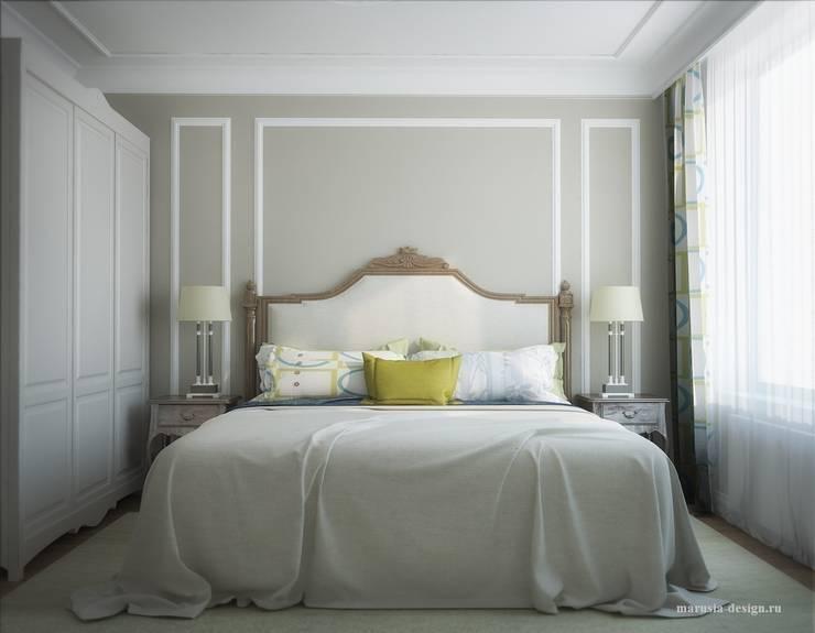 3х комнатная квартира пр.Просвещения: Спальни в . Автор – marusia-design