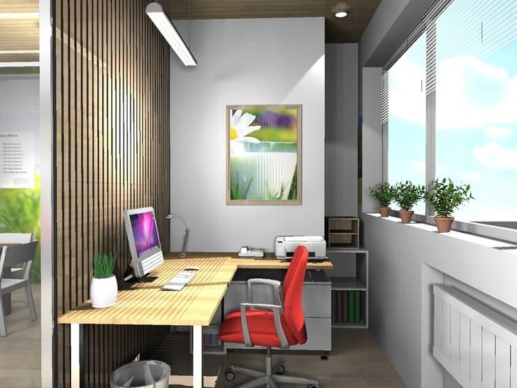 офис для компании <q>Молочная культура</q>: Офисные помещения в . Автор – marusia-design