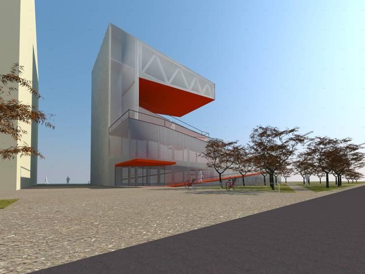 SELIM SENIN – Kopenhag Modern Kütüphane:  tarz Etkinlik merkezleri