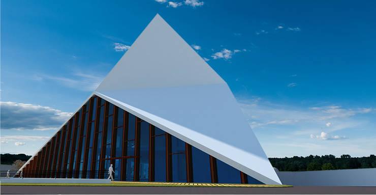 SELIM SENIN – Kayseri Ticaret Odası Hizmet Binası:  tarz Ofis Alanları