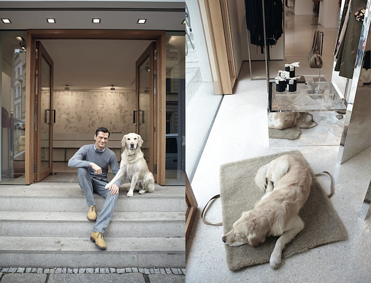 Гостиная в . Автор – Cloud 7 Finest Interiors for Dogs & Dog Lovers