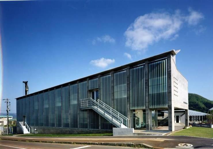 北側外観: 株式会社ヨシダデザインワークショップが手掛けた家です。