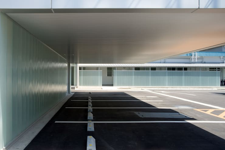 大谷製鉄食堂棟: 濱田修建築研究所が手掛けたガレージです。