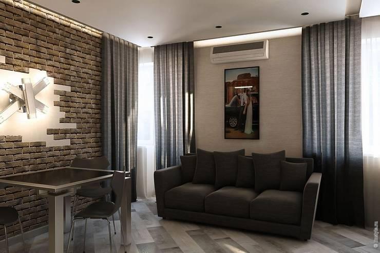 Гостиная - кухня: Гостиная в . Автор – Дизайн-бюро «Линия стиля»