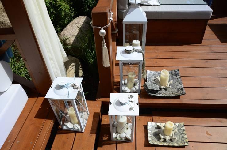 Ogród w klimacie Azji.: styl , w kategorii Ogród zaprojektowany przez CAROLINE'S DESIGN