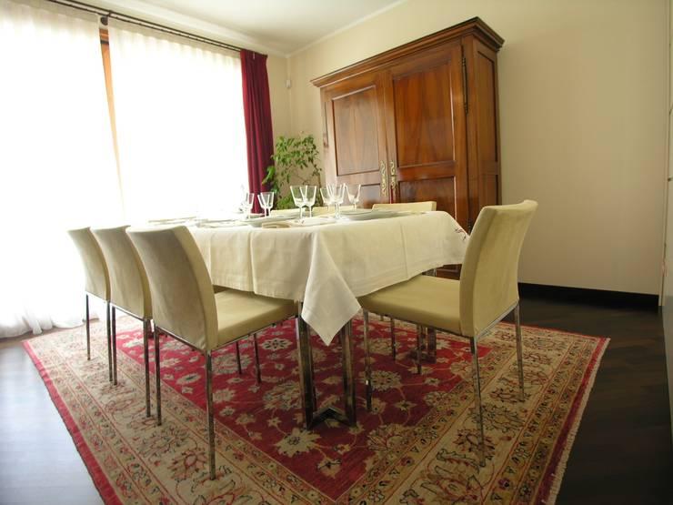 Sala da pranzo : Sala da pranzo in stile  di STUDIO ZERO 30