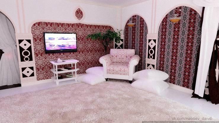 Уютный уголок.: Спальни в . Автор – Nada-Design Студия дизайна.