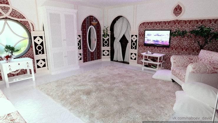 Вход в помещение.: Спальни в . Автор – Nada-Design Студия дизайна.