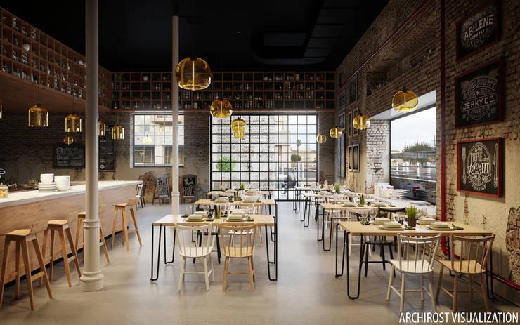 """кафе """"Артель"""": Столовые комнаты в . Автор – Аrchirost"""