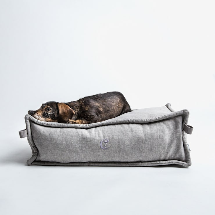 Dog Bed COZY (S):  Wohnzimmer von Cloud 7 Finest Interiors for Dogs & Dog Lovers