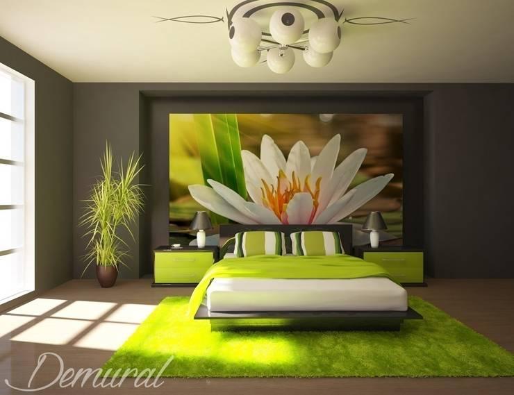 Orientalna oaza spokoju: styl , w kategorii Sypialnia zaprojektowany przez Demural.pl,
