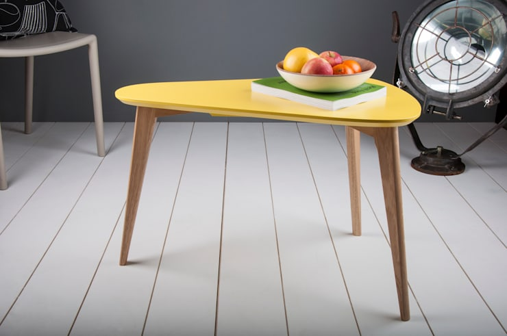 Pear Side Table: modern Living room by Obi Furniture