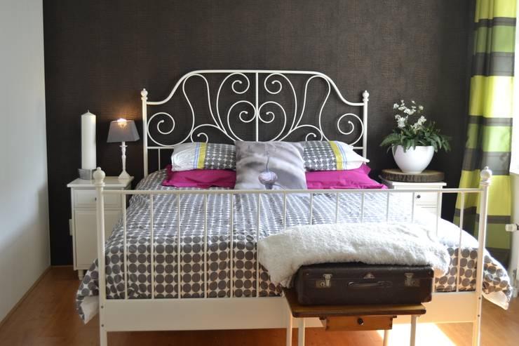 Slaapkamer na:   door ilsephilips
