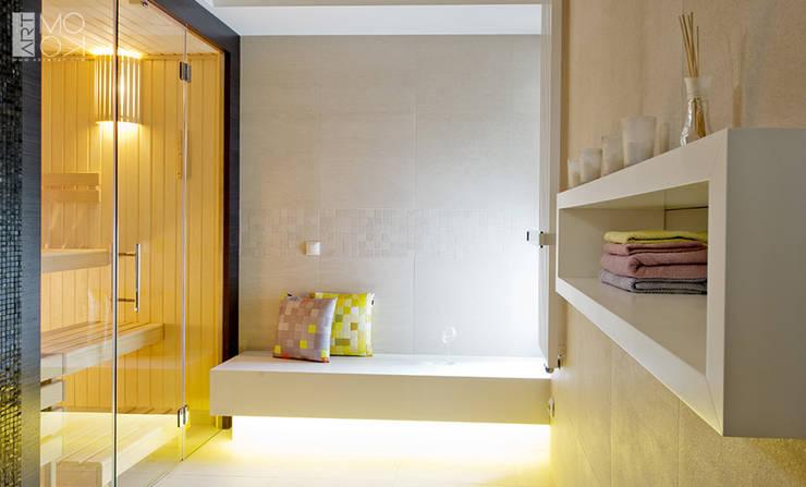 Domowe SPA: styl , w kategorii Spa zaprojektowany przez Pracownia projektowa artMOKO