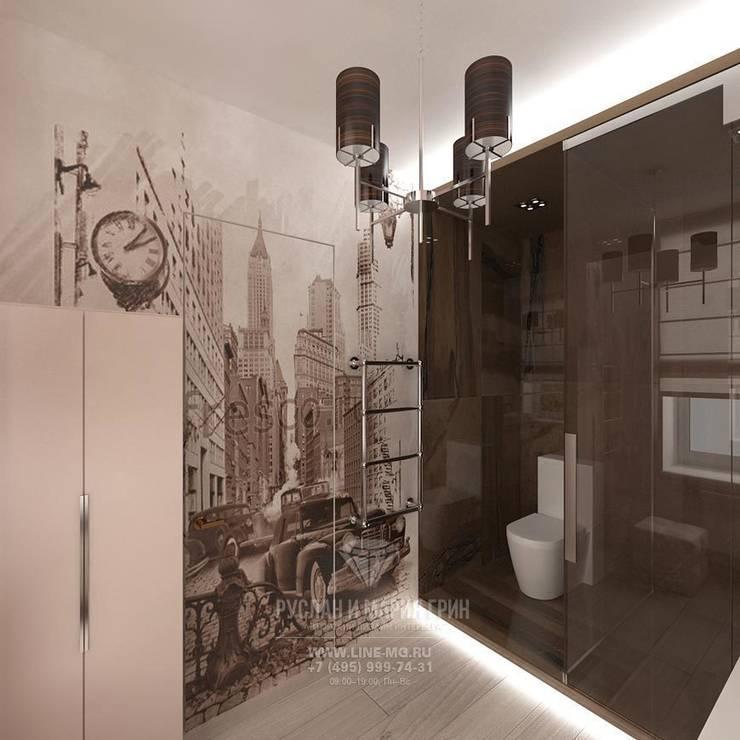 Дизайн санузла: Ванные комнаты в . Автор – Студия дизайна интерьера Руслана и Марии Грин