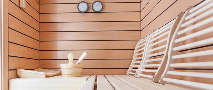 Sauna:   von Haus Wieckin